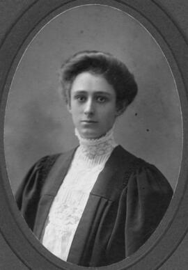 Photograph of Elizabeth Jane Maycock : Class of 1909