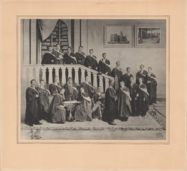 Composite photograph of the graduating class 1893