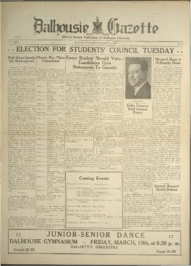 Dalhousie Gazette, Volume 65, Issue 17