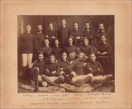 Photograph of Dalhousie Football Team - 1886