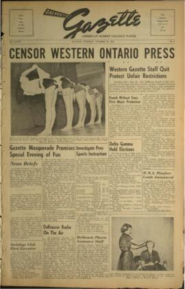 Dalhousie Gazette, Volume 85, Issue 9