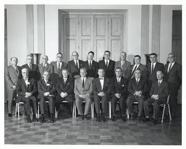 Photograph of the Executive Committee of the Medical Society of Nova Scotia, 1965
