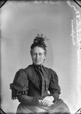 Photograph of Mrs. Duncan Chisholm