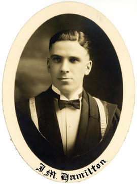 Portrait of John McKay Hamilton : Class of 1927
