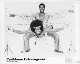 Photograph of two Caribbean dancers