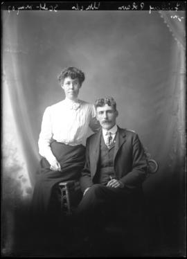 Photograph of Finlay Polson & friend