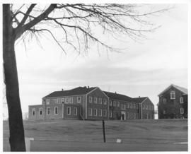 Photograph of the physical education building