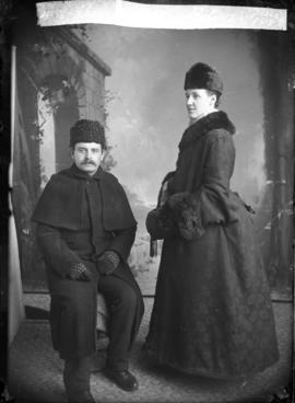 Photograph of Mr. and Mrs. Rev. Robertson.