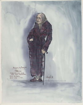Costume design for Gabriele