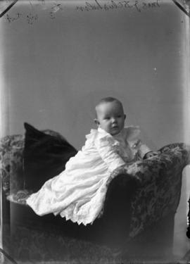 Photograph of Mrs. J. D. Chisholm's baby
