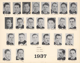 Composite Photograph of the Faculty of Medicine - Class of 1937