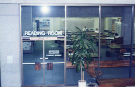 Photograph of the Reading Room at the Killam Memorial Library, Dalhousie University