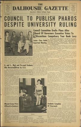 The Dalhousie Gazette, Volume 82, Issue 22