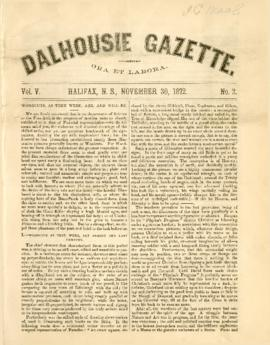 Dalhousie Gazette, Volume 5, Issue 2