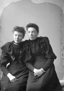 Photograph of Mss. Smith and McGillivery
