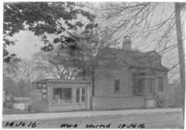 Photograph of a building on [Sackville?] street near [South Park?] in Halifax Nova Scotia