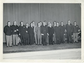 Photograph of the Dalhousie University faculty of 1948