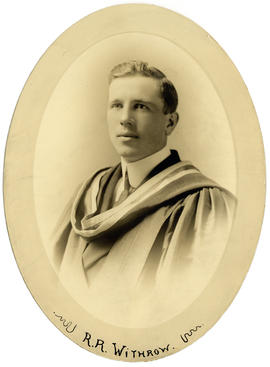 Portrait of Ralph Roscoe Withrow : Class of 1915