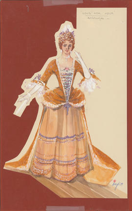 Costume design for Angelica