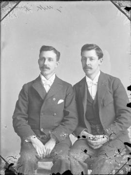 Photograph of Messrs. Stewart and Lorry