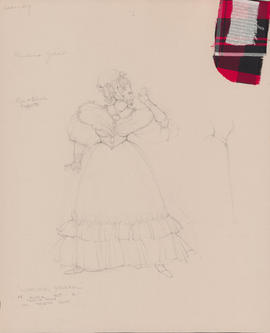 Costume design for Anna : Act I, scene I