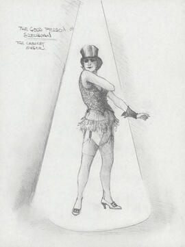 Costume design for the cabaret singer