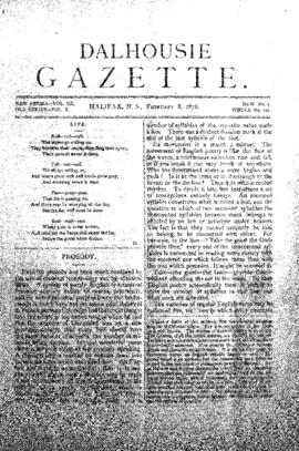 Dalhousie Gazette, Volume 10, Issue 7