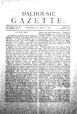 Dalhousie Gazette, Volume 10, Issue 11