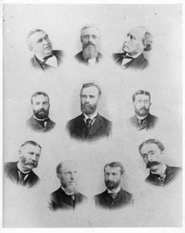Composite photograph of Dalhousie University faculty