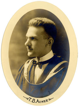 Portrait of Thomas Burns Acker : Class of 1921