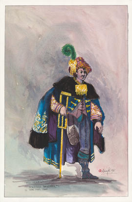 Costume design for Boutros Brother #2