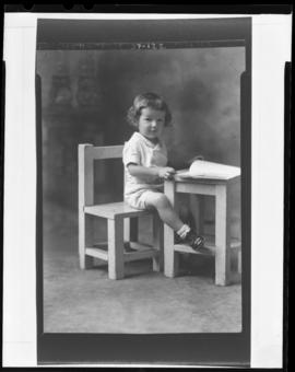 Photograph of the child of Mrs. Robert Haines