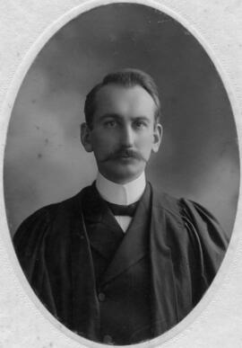Photograph of Alonzo Alexander Smith : Class of 1906