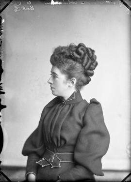 Photograph of Miss McMillan