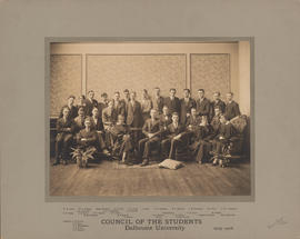 Photograph of the council of the students