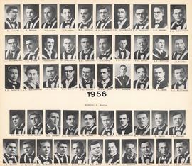 Composite photograph of the Faculty of Medicine - Class of 1956