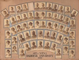 Photograph of the Arts and Science of Dalhousie University Class of 1922