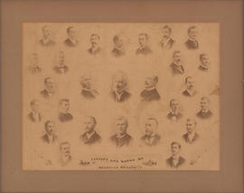 Composite photograph of Law Faculty and Class of 1893