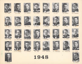 Composite Photograph of the Faculty of Medicine - Class of 1948