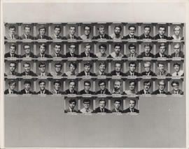 Photograph of Faculty of Law second year class of 1971-1972