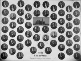 Composite photograph of Dalhousie senior Arts and Science class