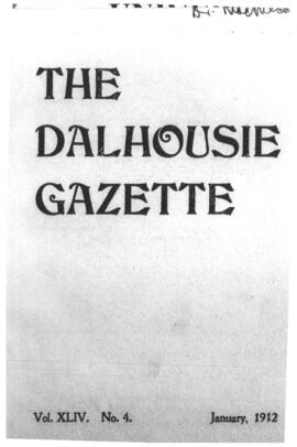 The Dalhousie Gazette, Volume 44, Issue 4
