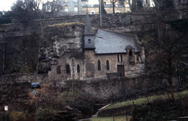 Photograph of the Chapel of Saint-Quirin church in Luxembourg