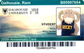 Dalcard for the Dalhousie Ram