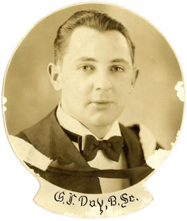 Portrait of George Frederick Day : Class of 1939