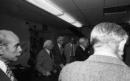 Photograph of attendees at the opening of the Trace Analysis Research Centre