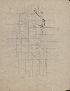 Arthur Lismer sketch of Arthur Stanley Mackenzie : [drawing]