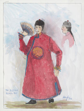 Costume design for Kung-Tu