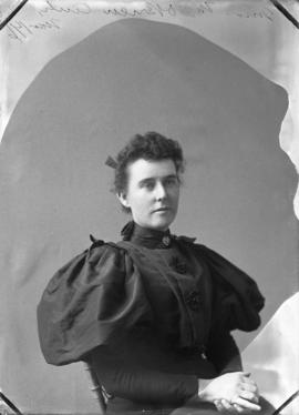 Photograph of Miss M. O'Brien