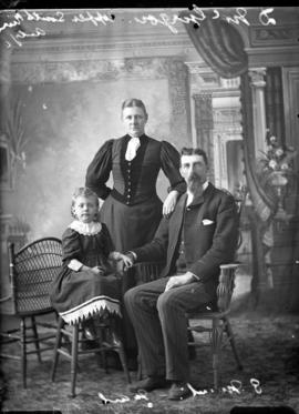 Photograph of D. McGregor and family